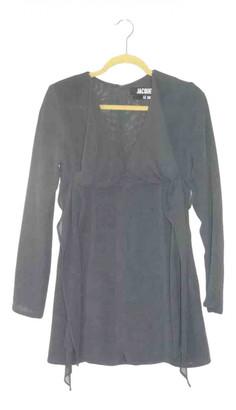 Jacquemus Le Souk Anthracite Wool Dresses