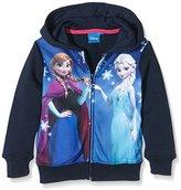 Disney Girl's Frozen Snowflake Sweatshirt