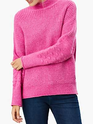 Joules Kalia Bubble Stitch Sleeve Jumper