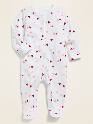 Old Navy Unisex Printed Footie Pajama One-Piece for Baby