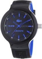 Lacoste Men's Borneo 2010658 Silicone Analog Quartz Watch