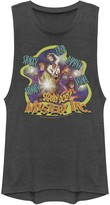 Scooby-Doo Licensed Character Juniors' Mystery Inc. Name Portraits Muscle Tee