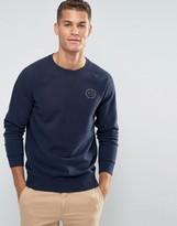 Jack Wills Sweatshirt With Logo In Navy
