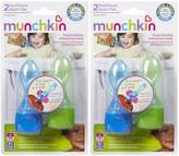 Munchkin Click Lock Food Pouch Spoon Tips - Boy - 4 ct