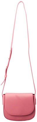 Mansur Gavriel Light Pink Leather Mini Crossbody Bag