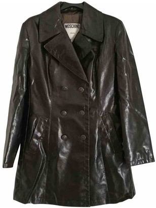 Moschino Cheap & Chic Moschino Cheap And Chic Brown Coat for Women Vintage