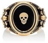 Alexander McQueen Men's Skull Signet Ring