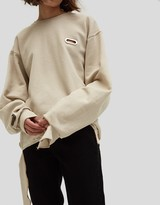 Collina Strada Sweatshirt Grommeted in NUDE187