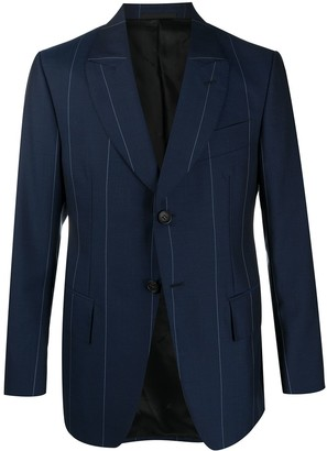 Lanvin Single-Breasted Striped Blazer