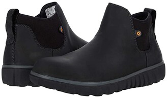 Bogs Classic Casual Chelsea (Black) Men's Boots
