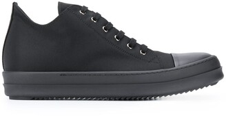 Rick Owens Capped-Toe Low-Top Trainers