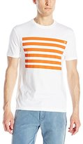 Original Penguin Men's Placed Stripe Slim-Fit Graphic T-Shirt