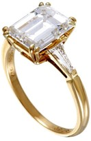 Boucheron 18K Yellow Gold Diamond Engagement Ring Size 5.75