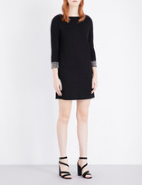 French Connection Crystal Shot jersey dress