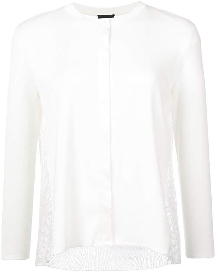 Akris cropped sleeve cardigan