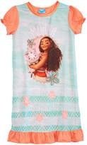 Disney Disney's Moana Graphic-Print Nightgown, Little & Big Girls