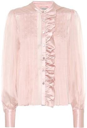 Temperley London Penny silk-chiffon shirt