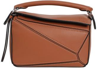 Loewe Mini Puzzle Bag, Brown