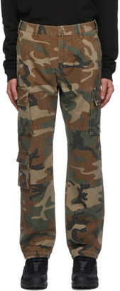John Elliott Green Utility Cargo Pants