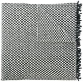Oliver Spencer tonal checked scarf