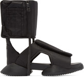 Rick Owens Black Cargo Sandals