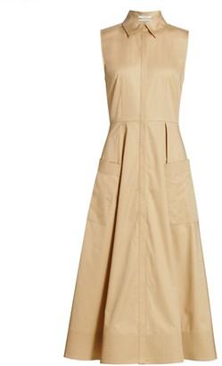 Co Poplin Midi Dress