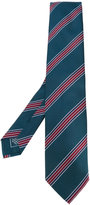 Brioni striped pattern tie - men - Silk - One Size