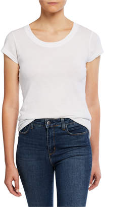 L'Agence Cory Scoop-Neck Tee