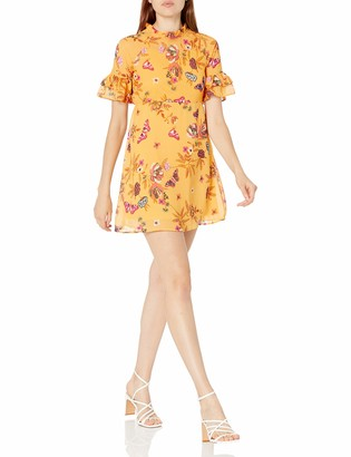 Lucca Couture Women's Madeline Floral Mini Dress