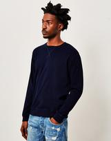 Edwin Classic Crew Indigo Sweatshirt Navy