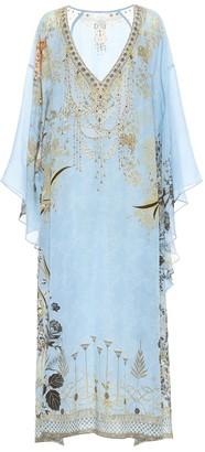 Camilla Embellished silk kaftan