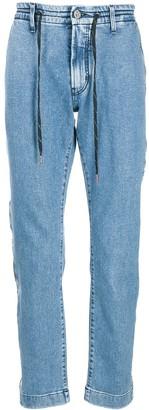 Karl Lagerfeld Paris Logo Tape Detail Jeans