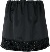No.21 bead embroidery mini skirt - women - Polyester - 38