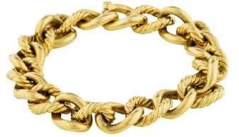 David Yurman 18K Cable Chain-Link Bracelet
