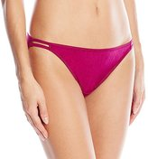 Vanity Fair Women's Body Shine Illumination String Bikini Panty