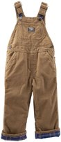Osh Kosh Lined Overalls (Baby) - Log Cabin-24 Months