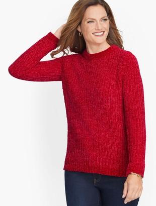 Talbots Cozy Chenille Crewneck Sweater
