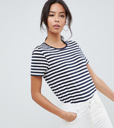 Asos DESIGN Tall t-shirt with crew neck in stripe