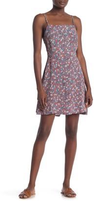 Cotton On Floral Print 90's Mini Dress