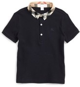 Burberry Toddler Boy's Mini William Cotton Polo