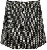 Glamorous Petites **Floral Corduroy Button Front Skirt by Glamorous Petite