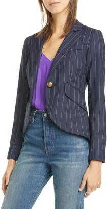 Smythe Pinstripe One-Button Blazer