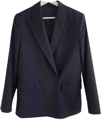 J. Lindeberg Navy Wool Jacket for Women