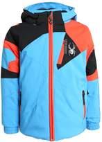 Spyder MINI LEADER UIUK Ski jacket french blue/black/burst