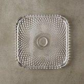CB2 Diamont Glass Plate