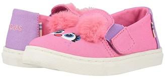 Sesame Street Toms Kids TOMS Kids Luca (Toddler/Little Kid) (Pink Abby Face Canvas) Girl's Shoes