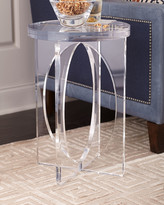 John-Richard Collection Acrylic Martini Side Table