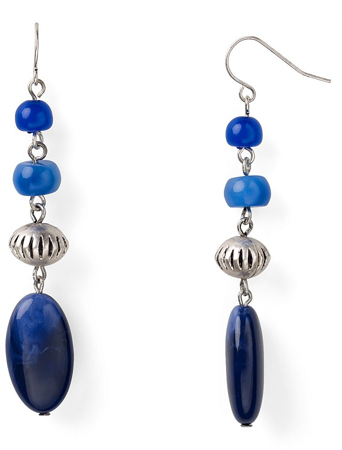 Lauren Ralph Lauren Blue Mountain Drop Earrings