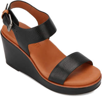Gentle Souls Hope Leather Slingback Wedge