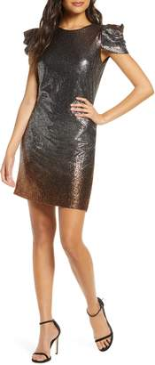 Julia Jordan Sparkle Cocktail Dress